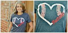 $16.99 Personalized Baseball Tee | Sassy Steals