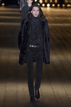 View the full Fall 2018 collection from Saint Laurent. #MensFashion2018