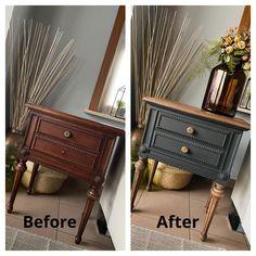 Diy Furniture Renovation, Furniture Fix, Do It Yourself Furniture, Refurbished Furniture, Repurposed Furniture, Furniture Projects, Furniture Makeover, Vintage Furniture, Refurbished Night Stand