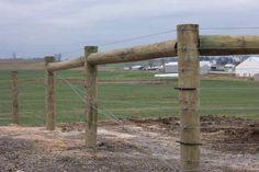 Get Beautiful Fence And Gate Design Ideas Build Wood Gate Latch Page Farm Gate, Farm Fence, Fence Gate, Fences, Pasture Fencing, Horse Fencing, High Tensile Fence, Split Rail Fence, Gate Latch