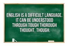 English through thoughtful, tough, thorough explanation. #irresistiblestorytelling