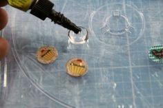 DIY Ohrringe Cabochons 4 Ohrringe selber machen, sogar mit Freebie zum ausdrucken :)