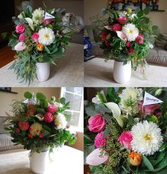 Looking for a great florist? I got these from Farmgirl flowers today and I'm blown away by their beauty.