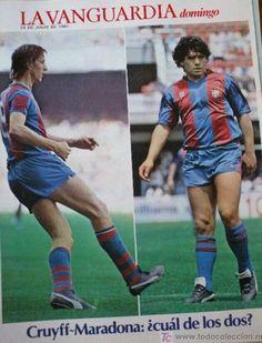 Diego estuvo un par de años, Cruyff fue más en mas años...Cruyff.