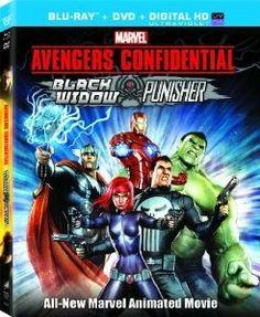 Avengers Confidential: Black Widow & Punisher [Blu-ray] (2014)