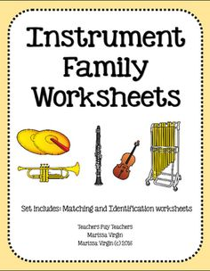 this page has lots of free printable instruments of the orchestra sheets music education. Black Bedroom Furniture Sets. Home Design Ideas