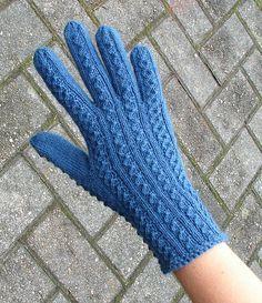 Ravelry: Merike's Gloves pattern by Nancy Bush - Knitting 2019 - 2020 Hand Gloves, Wool Gloves, Crochet Gloves, Knit Mittens, Fingerless Gloves, Knitting Paterns, Knitting Projects, Gloves Fashion, Wrist Warmers