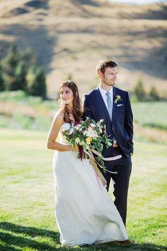 Kate and Adam& Backyard Wedding at Lake Chelan with @SarahSeven wedding dress. ©RyanFlynnPhoto www.ryanflynnphotography.net