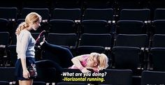 """She understands the deceit that is """"exercise."""" 