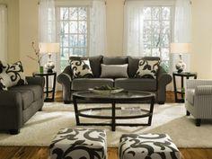 Colette Grey Sofa - Value City Furniture