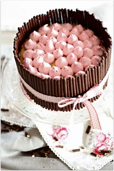 Bake a wish: Himbeeren, Schokosticks & Sahnetuffs - das muss Liebe sein Cupcakes, Cake Cookies, Cupcake Cakes, Cook N, High Calorie Meals, Fancy Cakes, No Bake Cake, I Foods, Vanilla Cake