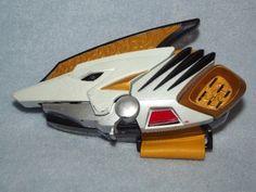 Power Rangers Dino Thunder Tyranno personnel rouge arme gun BANDAI 2003 Cosplay