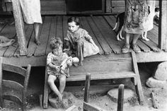WALKER EVANS, Tengle Children, Hale County, Alabama,  1936.