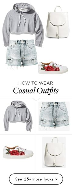 """casual collection"" by aayushi1226 on Polyvore featuring Ksubi, Frame and Everlane"