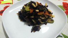Avete mai provato a cucinare il riso venere con verdurine e spezie?