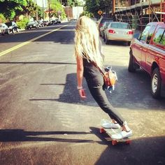 i wish i could skateboard and lived in california and was a beach bum. lol