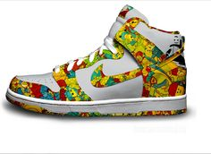 official photos a0c62 5cfbe Zapatillas NIKE diseñadas con los muñecos de LEGO Baskets Nike, Legos,  Dream Shoes