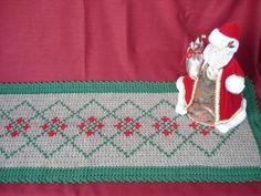 Holiday Crochet Table Runner - Knitting Patterns and Crochet Patterns from KnitPicks.com