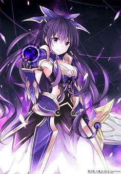 second fanart of this characters~ Tohka Yatogami (夜刀神 十香 Yatogami Tōka) Date a Live - Anime version © AIC PLUS+ Character design © Tsunako This Fan. Date A Live, Girls Anime, Manga Girl, Anime Krieger, One Punch Anime, Anime Pictures, Anime Date, Comic Manga, Anime Warrior