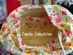 Cesto forrado, kit 30€, disponible en Carola Entretelas