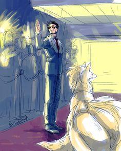 Tony Stark's Ninetales. EPIC!