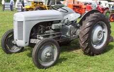 Little Grey Fergie. Antique Tractors, Vintage Tractors, Vintage Farm, 8n Ford Tractor, Pink Tractor, Ferguson Te20, Vespa, Tractor Photos, Farmall Tractors