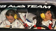 Michele Mouton And Fabrizia Pons - The Most Successful Female World Rally Championship Pair (wrc Championship Runner-up In 1982, Driving Groupb Audi Quattro).