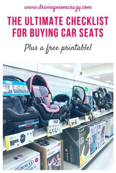 What is the best car seat and how do you choose? Get tips from an expert! The best car seat is one that fits your child and car correctly. Pregnant moms and seasoned parents alike can benefit from this list of exclusive tips, features to look for, budge Home Safety, Baby Safety, Safety Tips, Best Car Seats, Breastfeeding Help, Baby Swings, Newborn Care, Baby Registry, Baby Essentials
