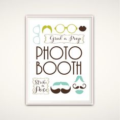 photo booth sign template free wedding printables pinterest