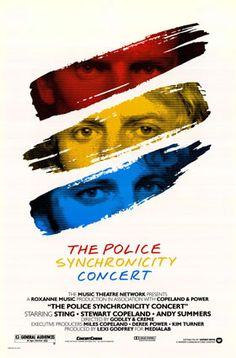 "poster promoting the video release of ""The Synchronicity Concert"" (1984) - quite rar I think. Never seen this before."