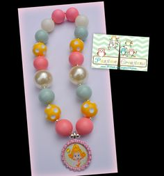 Bubble Guppies Bubble Guppies necklace by PastimeCreationsbyHG, $15.00