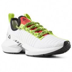 the best attitude 77fd2 95b34 Reebok Women s Sole Fury in White   Black   Lime   Red Size 6 - Lifestyle,Running  Shoes