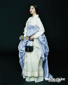 고고한 한복과 현대적인 백의 만남  Daum라이프