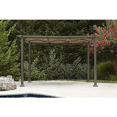 New Garden Oasis REPLACEMENT Canopy for Bay Window Gazebo D71