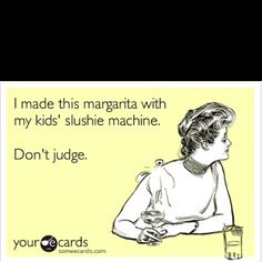omg...i would never do  this...well maybe with my shaved ice machine..lol