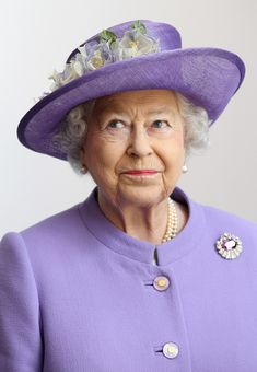 Queen Elizabeth, June 14, 2012 in Rachel Trevor Morgan