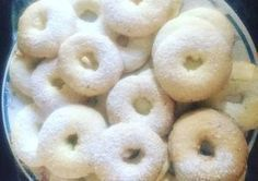 Rosquitas de maicena y anís sin TACC Mexican Food Recipes, Sweet Recipes, Gluten Free Christmas Cookies, Profiteroles, Baby Shower Cupcakes, Healthy Cookies, Homemade Beauty Products, Galette, Gluten Free Recipes