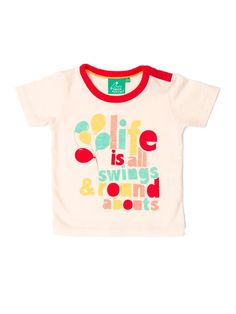 Love this little person's tee from Little Green Radicals.
