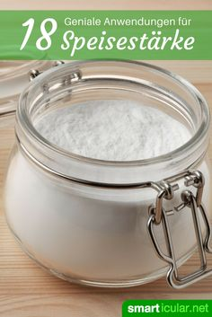 Food starch in the household: 18 surprising applications - Haushalt - Reinigung House Cleaning Tips, Cleaning Hacks, Neutrogena, Diy Household Tips, Patio Furniture Cushions, Clean House, Housekeeping, Good To Know, Martini