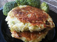 Paleo Broccoli Fritters