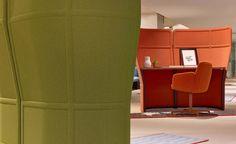 Patricia Urquiola's new 'Openest' office furniture line for Haworth Lounge Furniture, Cheap Furniture, Online Furniture, Furniture Design, Kitchen Furniture, System Furniture, Furniture Buyers, Patricia Urquiola, Commercial Interior Design