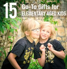 Great list to keep on hand for Christmas or the next time you child gets invited to a friend's birthday party!