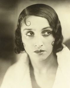 Renee Perle in White Robe c1930 (Jacques-Henri Lartigue)