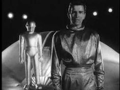 "The Day the Earth Stood Still (Trailer) - ""I came here to give you these facts. But if you threaten to extend your violence, this Earth of yours will be reduced to a burned out cinder"". - ""It is a robot, without you, what could he do? There's no limit to what he could do, he could destroy the Earth""."