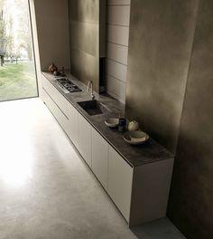 Blade | Modern Kerlite Kitchens Modulnova - Composition 2 | Designe ...