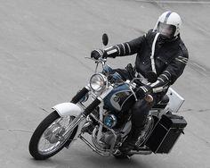 Pannonia Police Honda Motors, Cars And Motorcycles, Police, Super 4, Flag, Iron, Bike, History, Hungary