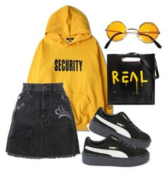 """R i l e y"" by wavvy-k ❤ liked on Polyvore featuring Justin Bieber, Marc Jacobs, Puma and Gucci"