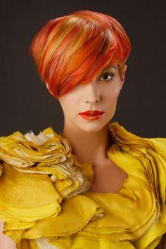 2012 Goldwell Color Zoom Finalist via Modernsalon.com.