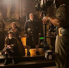 Outlander behind the scenes epi 4 The Gathering.