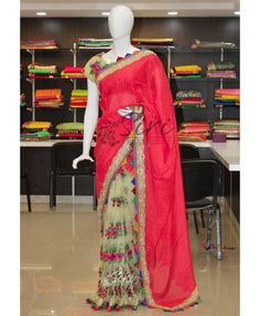 Buy Latest Fancy Patli Pallu Sarees From Siri Collections.